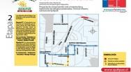 Municipio dispondrá desvíos por nuevos trabajos de mejoramiento en Avenida Los Carrera.