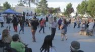 """""""Tarde de Boulevard"""" se tomó Plaza Eduardo Solís con música, entretención y artesanías."""
