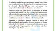Declaración Pública Juventud RN acerca de atentado sede Dip. Camila Flores.