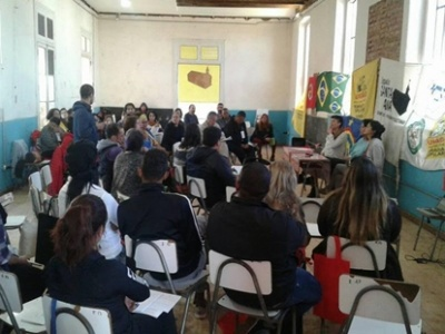 Organizaciones latinoamericanas se reúnen por el derecho a la vivienda y el hábitat.