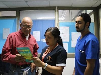 Hospital Dr. Gustavo Fricke SSVQ se prepara para las Fiestas Patrias.