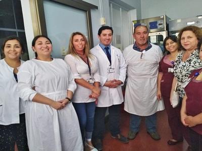 Nuevo director del Hospital Carlos Van Buren recorre dependencias del recinto junto a asociaciones gremiales.