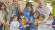 En Quilpué,inauguran obras de remodelación en área Pre-Básica de Colegio Guillermo Zañartu Irigoren.