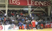 """Los Leones inaguran el torneo""""Concepción 466"""" enfrentando a las Ánimas de Valdivia."""