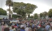 Apasionada Noche de Tango encantó a cientos de vecinos de Quilpué y El Belloto.