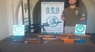 Carabineros incautó armas de fuego y aire comprimido en Limache.