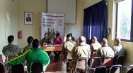 Gobernador César Barra encabezó reunión de  seguridad por Elecciones Primarias  Presidenciales.