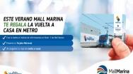 METRO de Valparaíso y Mall Marina firman alianza que regalará viajes.