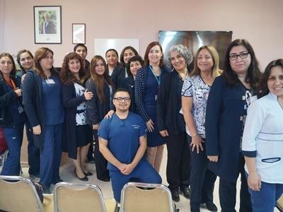 Profesionales de Enfermería del Hospital de Quilpué actualizan conocimientos en Jornada que celebra su Día.