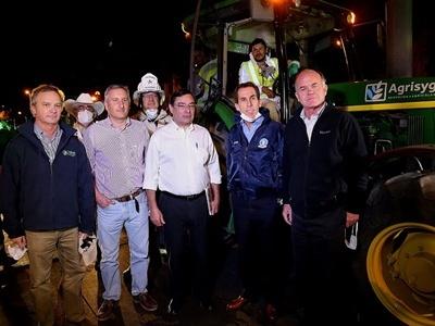 El Tras Bambalinas de la Sanitización con Maquinaria Agrícola contra el Covid-19 en Santiago