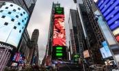 Princesa Alba aparece en Times Square!