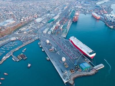 Puerto San Antonio aclara que el terminal ejecuta con rapidez la descarga de vehículos nuevos