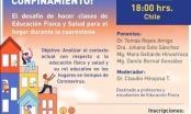 UPLA organiza conversatorio digital sobre clases de Educación Física en el hogar
